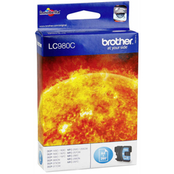 BROTHER - Brother LC38-LC980 Mavi Orjinal Kartuş