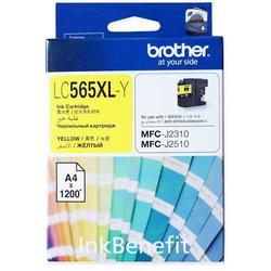 BROTHER - Brother LC565XL Sarı Orjinal Kartuş