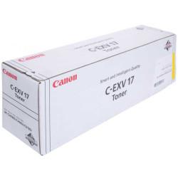 CANON - Canon C-EXV-17/0259B002 Sarı Orjinal Fotokopi Toneri