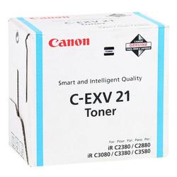 CANON - Canon C-EXV-21/0453B002 Mavi Orjinal Fotokopi Toneri