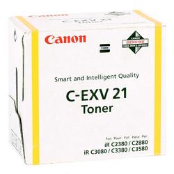 CANON - Canon C-EXV-21/0455B002 Sarı Orjinal Fotokopi Toneri