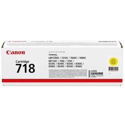 CANON - Canon CRG-718/2659B002 Sarı Orjinal Toner
