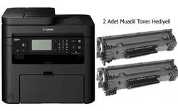 CANON - Canon İ-Sensys MF237W Fotokopi Tarayıcı Faks 2 Adet Muadil Toner Hediyeli