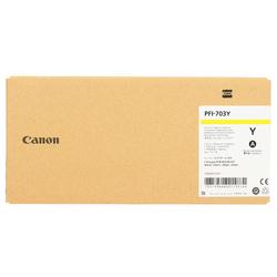 Canon - Canon PFI-703Y/2966B001 Sarı , orjinal kartuş
