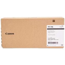CANON - Canon PFI-706BK/6681B001 Siyah Orjinal Kartuş
