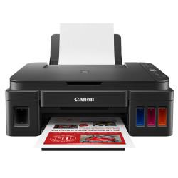 Canon - Canon Pixma G3411 Wi-Fi + Tarayıcı + Fotokopi Renkli Çok Fonksiyonlu Tanklı Yazıcı