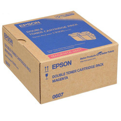 EPSON - Epson C9300-C13S050607 Kırmızı Orjinal Toner 2Li Paketi
