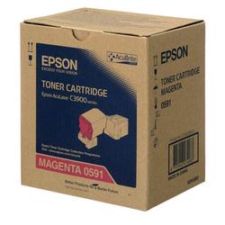 EPSON - Epson CX-37/C13S050591 Kırmızı Orjinal Toner