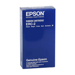 EPSON - Epson ERC-02/C43S015425 Kırmızı-Siyah Orjinal Şerit