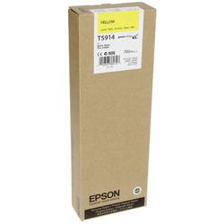 EPSON - Epson T5914-C13T591400 Sarı Orjinal Kartuş