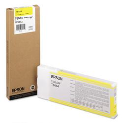 EPSON - Epson T6064-C13T606400 Sarı Orjinal Kartuş