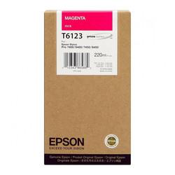 EPSON - Epson T6123-C13T612300 Kırmızı Orjinal Kartuş