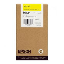 EPSON - Epson T6124-C13T612400 Sarı Orjinal Kartuş
