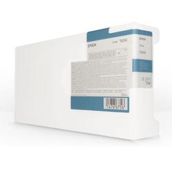 EPSON - Epson T6242-C13T624200 Mavi Orjinal Kartuş