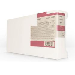 EPSON - Epson T6243-C13T624300 Kırmızı Orjinal Kartuş