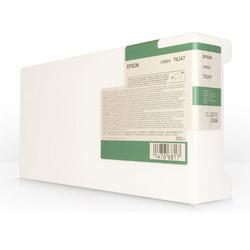 EPSON - Epson T6247-C13T624700 Yeşil Orjinal Kartuş