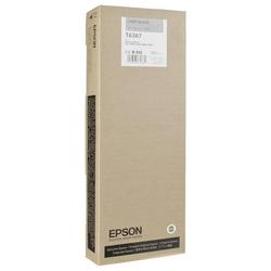 EPSON - Epson T6367-C13T636700 Açık Siyah Orjinal Kartuş