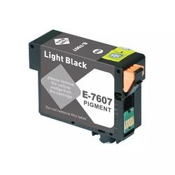 EPSON - Epson T7607-C13T76074010 Açık Siyah Muadil Kartuş