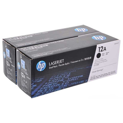 HP - Hp 12A-Q2612AF Orjinal Toner İkili Paket