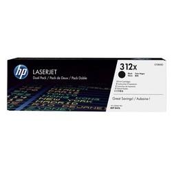 HP - Hp 312X-CF380XD Siyah Orjinal Toner Yüksek Kapasiteli İkili Paket
