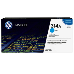 HP - Hp 314A-Q7561A Mavi Orjinal Toner