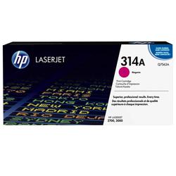 HP - Hp 314A-Q7563A Kırmızı Orjinal Toner