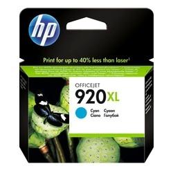 HP - Hp 920XL-CD972A Mavi Orjinal Kartuş