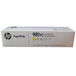 HP - Hp 981YC-L0R19YC Sarı Orjinal Kartuş Extra Yüksek Kapasiteli