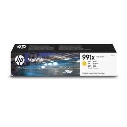 HP - Hp 991X-M0J98AE Sarı Orjinal Kartuş Yüksek Kapasiteli