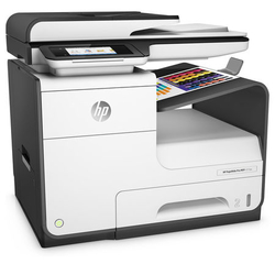 Hp - Hp D3Q20B PageWide Pro 477dw Fax-Fot-Tarayıcı Çok Fonksiyonlu Yazıcı