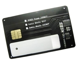 KONICA-MINOLTA - Konica Minolta 1600F Toner Chip