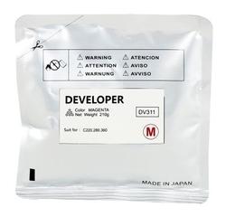 KONICA-MINOLTA - Konica Minolta DV-311 Kırmızı Orjinal Developer