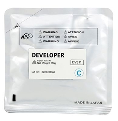 KONICA-MINOLTA - Konica Minolta DV-311 Mavi Orjinal Developer