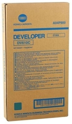 KONICA-MINOLTA - Konica Minolta DV-610 Mavi Orjinal Developer