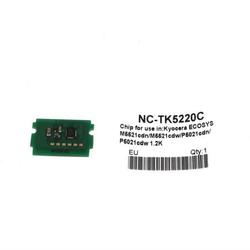 KYOCERA - Kyocera TK-5220 Mavi Toner Chip