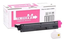 KYOCERA - Kyocera TK-590/1T02KVBNL0 Kırmızı Orjinal Toner