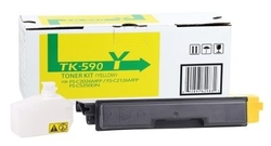 KYOCERA - Kyocera TK-590 Sarı Muadil Toner