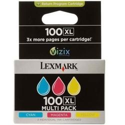Lexmark - Lexmark 100XL-14N0850E Renkli Orjinal Kartuş Avantaj Paketi