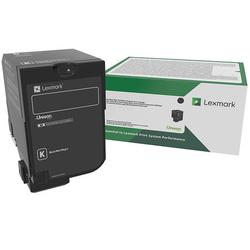 Lexmark - Lexmark CS727-75B20K0 Siyah Orjinal Toner