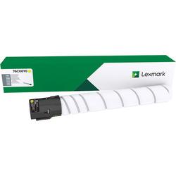 Lexmark - Lexmark CS921-76C00Y0 Sarı Orjinal Toner