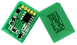 Oki - Oki C5600-43381923 Mavi Toner Chip