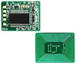 Oki - Oki C801-44643008 Siyah Toner Chip