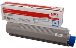 OKI - Oki C810-44059119 Mavi Orjinal Toner