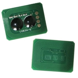 Oki - Oki C822-44844627 Mavi Toner Chip