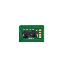 Oki - Oki C831-44844507 Mavi Toner Chip
