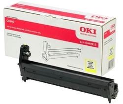 OKI - Oki C8600-43449013 Orjinal Sarı Drum Ünitesi