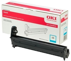 OKI - Oki C8600-43449015 Orjinal Mavi Drum Ünitesi
