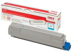 OKI - Oki C8600-43487723 Mavi Orjinal Toner