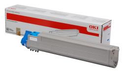 OKI - Oki C931-45536507 Mavi Orjinal Toner Yüksek Kapasiteli