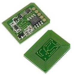Oki - Oki C9600-42918963 Mavi Toner Chip